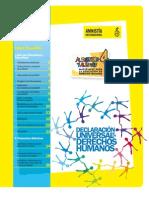 Material para la enseñanza de DD. HH. Amnistía Internacional