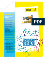 Material para la enseñanza de DD. HH. Amnistía Internacional para educadores