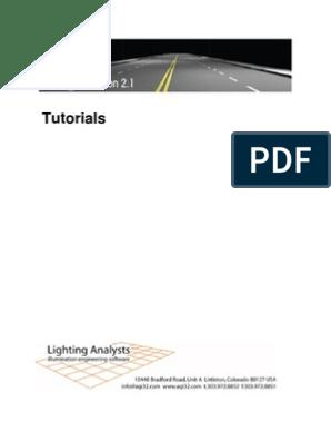 AGI32 v2dot1 Tutorials | Rendering (Computer Graphics