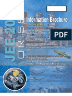 JEE Information Brochure 2011