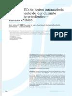 Terapia LED de Baixa Intensidade Dor - Renata Amadei