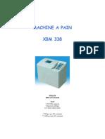 Manuel XBM-338 Francais