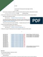 IP Addressing Notes 6-2-11