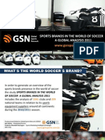 Sports Brands in the World of Soccer 2011