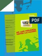 No Violencia Mujeres SECUNDARIA