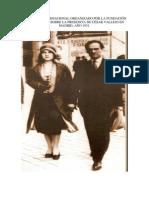 FALLO DEL CONCURSO CÉSAR VALLEJO EN MADRID 1931