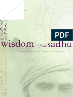 Sundar Singh - Wisdom of the Sadhu; The Teachings of Sundar Singh