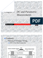 Chapter 3 - DC and Parametric Measurements