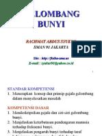 3.2. GELOMBANG BUNYI