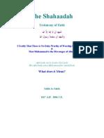 The Shahaadah - Testimony of Faith - Dr. Saleh As-Saleh (rahimahullah)