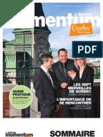 Magazine Momentum Printemps 2011