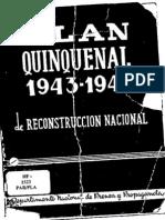 Paraguay Plan Quinquenal 1943-1948