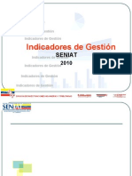 Indicadores deGestion Seniat 05