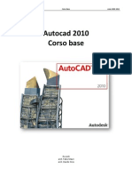 Corso AutoCAD 2010 - Base