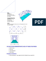 Tutorial SAP200 Through Truss Bridge