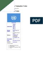 Organizaţia Naţiunilor Unite