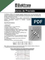 resistores de precisão