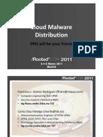 rootedcon2011 - cloud malware distribution -
