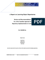 A Report on Learning Object Repositories