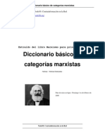 Diccionario Basico de Categorias