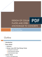 Elena Papadopoulos_Design of Column Base Plates
