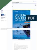 Wcdma for Umts_ Hspa Evolution and Lte