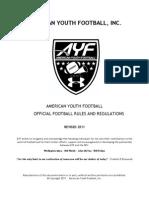 AYF Rulebook 2011