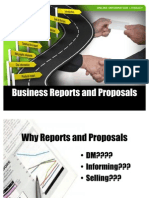 Business Reports and Proposals