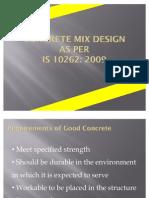 Mix Design 10262