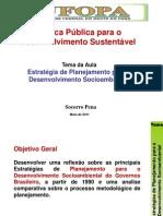 Politica Publica Para Sesenvolvimento Sustentavel