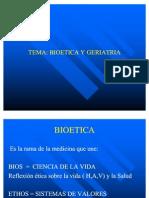 BIOETICAYGERIATRIA