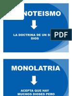 Monoteismo Ppt