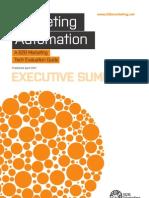 TEG Marketing Automation Summary