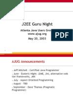 J2EE Struts UML Design Patterns - May2003