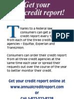 Free Credit Report in Pennsylvania