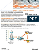 System Center Data Protection Manager 2007 Exchange