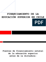 Financiamiento de la Educación Superior