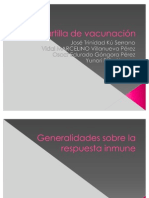 Cartilla De Vacunacion