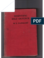 Scientific Self Defence (Defendu) - W.E. Fairbairn 1931