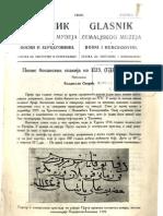 Glasnik Zemaljskog muzeja u BiH [godina 42, sveska 2; 1930.]