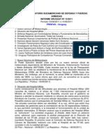 Informe Uruguay 13-2011