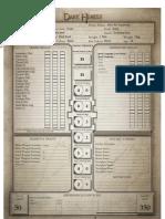 Dark Heresy - Character Sheet Proper