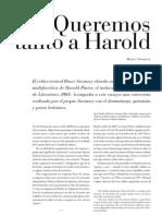 Ensayo Sobre Harol Pinter