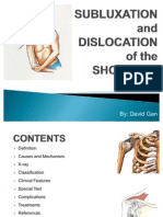 Subluxation and Dislocation of Ac Joint