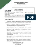 Solicitação de recurso de decisão departamental de revisão de notas da disciplina de Introdução à Biomecânica, do Departamento de Educação Física ii