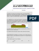 Função horária do espaço de um MUV e equação de Torricelli