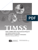 TIMSS 2003 Maths Report