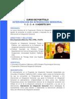 Convocatoria I. Sensorial 2011