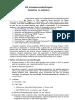 Academia Sinica Taiwan International Graduate Program (TIGP) Guidelines
