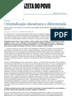 343o Duradoura e Diferenciada - Caderno G - Gazeta Do Povo)